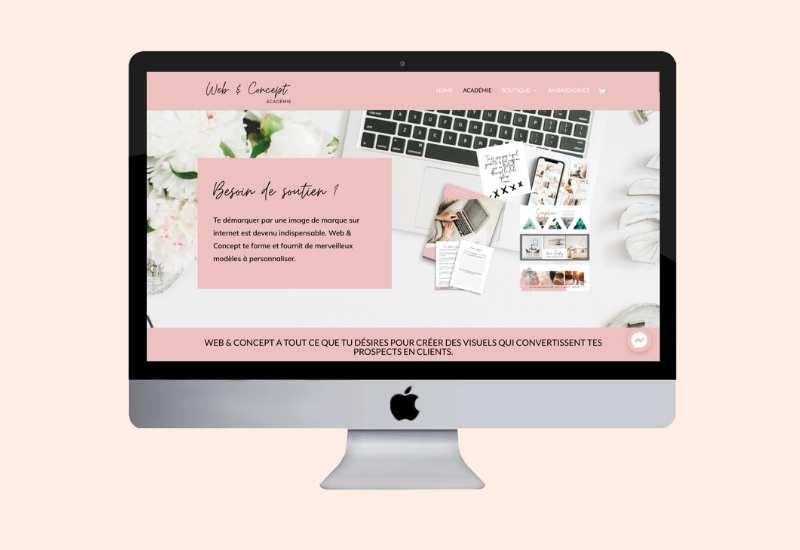 Concours: Gagne ton site internet